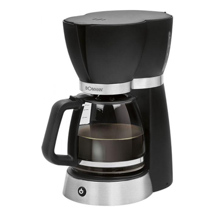 Kaffeemaschine in schwarz für 15 Tassen und Tropfverschluss – Bild 1