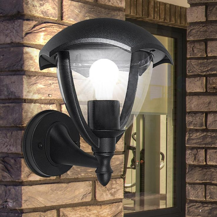 LED ALU wall sconce in black for outdoor VT  -730 – Bild 3