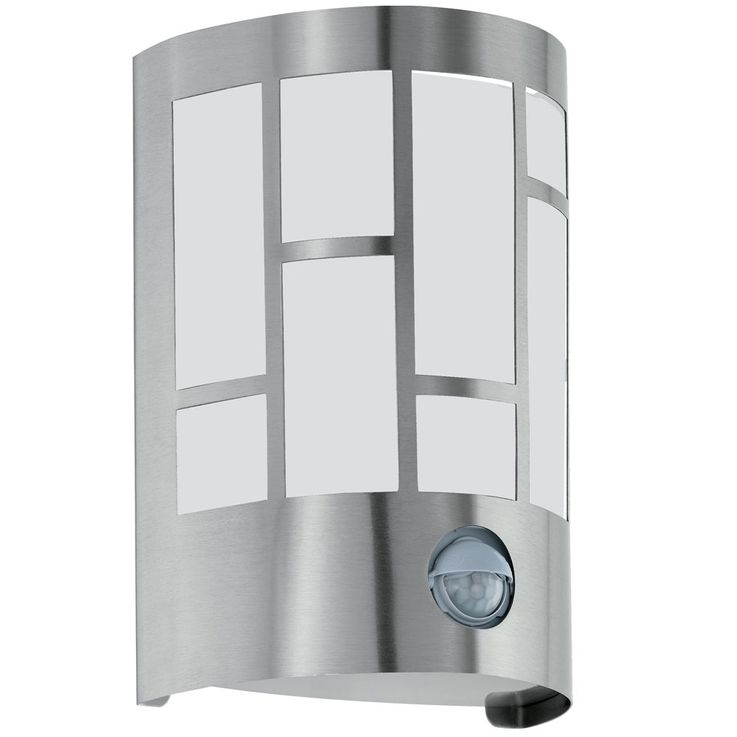 Design stainless steel wall lamp with motion detector CERNO – Bild 1