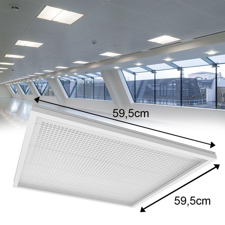 36 watts LED panneau de plafond encastré au plafond lampe de bureau éclairage de jour lampe de construction ultra mince – Bild 3