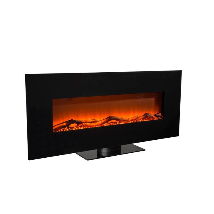 Stand Wand Steh Heizung Elektro Fernbedienung LED Flammen Effekt BHP B991580-4 – Bild 3
