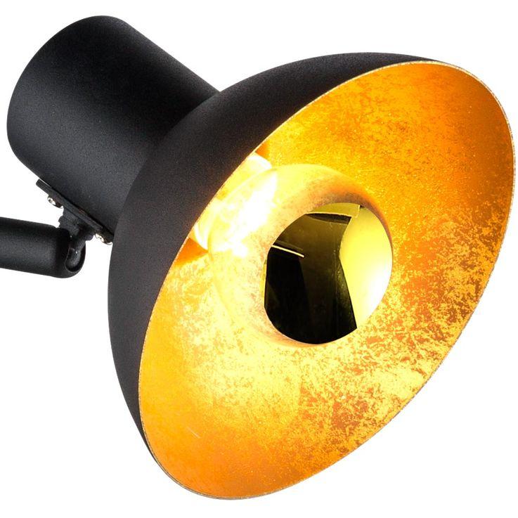 Spot de table à LED spot de lecture lampe réglable luminaire or noir  Globo 54001-1T – Bild 3