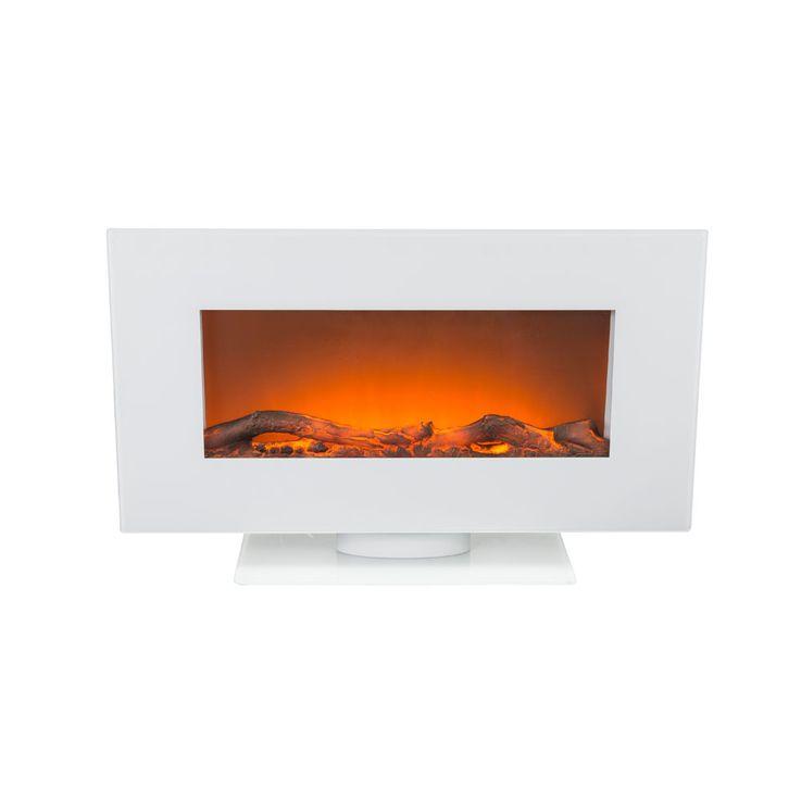 Stand Wand Steh Heizung Elektro Fernbedienung LED Flammen Effekt BHP B991848-3 – Bild 3
