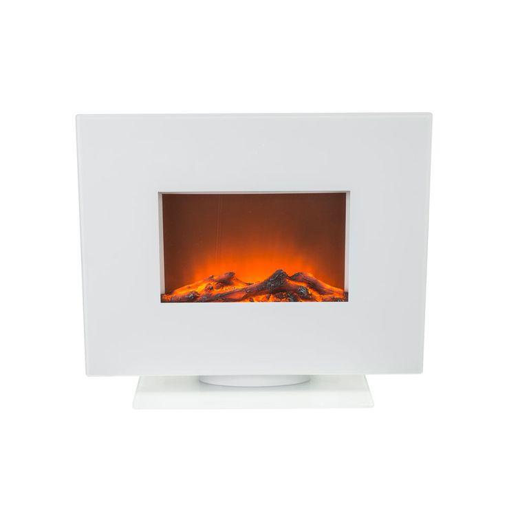 Stand Wand Steh Heizung Elektro Fernbedienung LED Flammen Effekt BHP B991849-3 – Bild 3