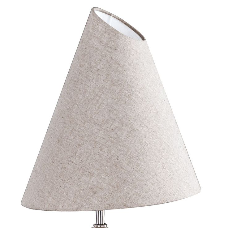 Lampe de table en céramique salon pierre optique textile lampe de lecture beige brun  Fischer  Leuchten 58641 – Bild 5
