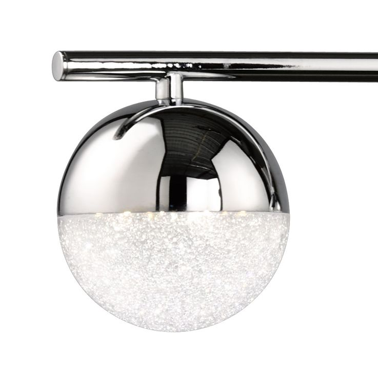LED pendant lamp with five balls and height adjustment MITRA – Bild 5