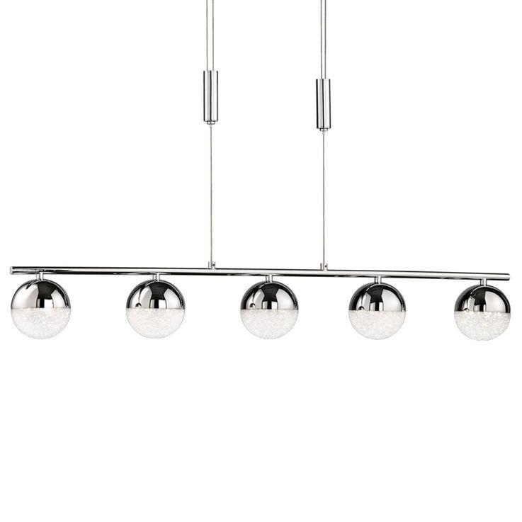Lampe à suspension LED à cinq billes et réglage en hauteur MITRA – Bild 4