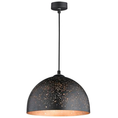 Luxury hanging lamp in black and gold, D 30 cm BUCO – Bild 1