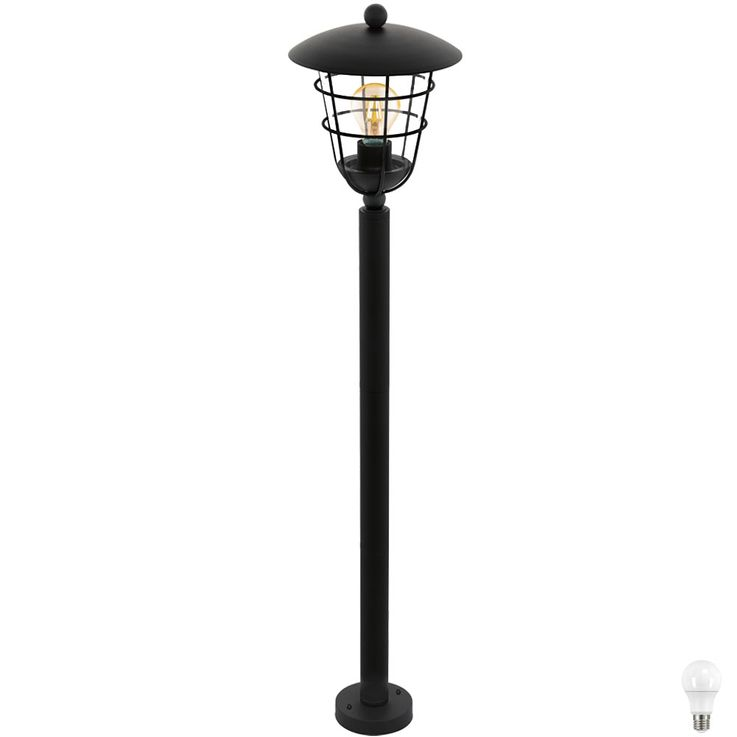LED Cage Design floor lamp in black PULFERO I – Bild 1