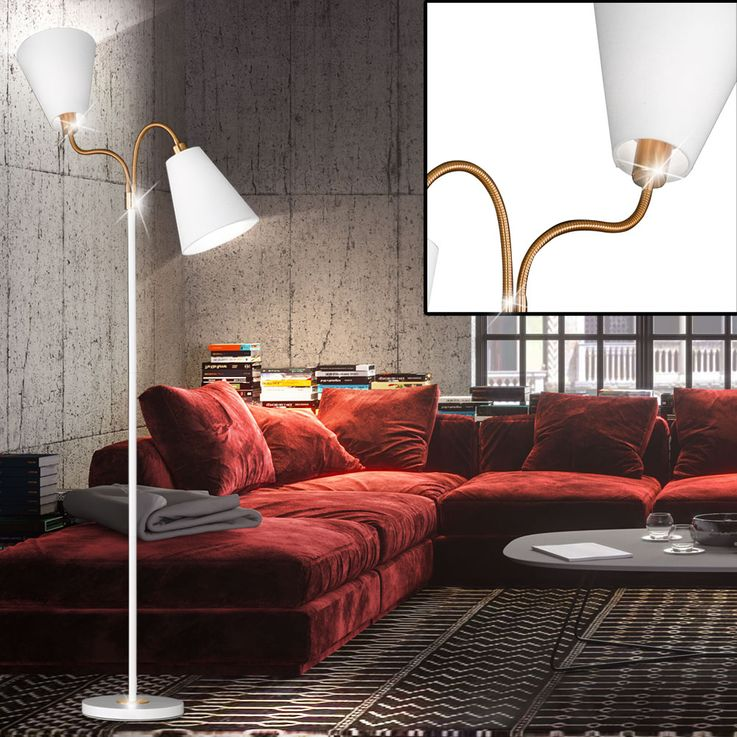 RGB LED floor lamp with two moving spots HOPPER – Bild 3