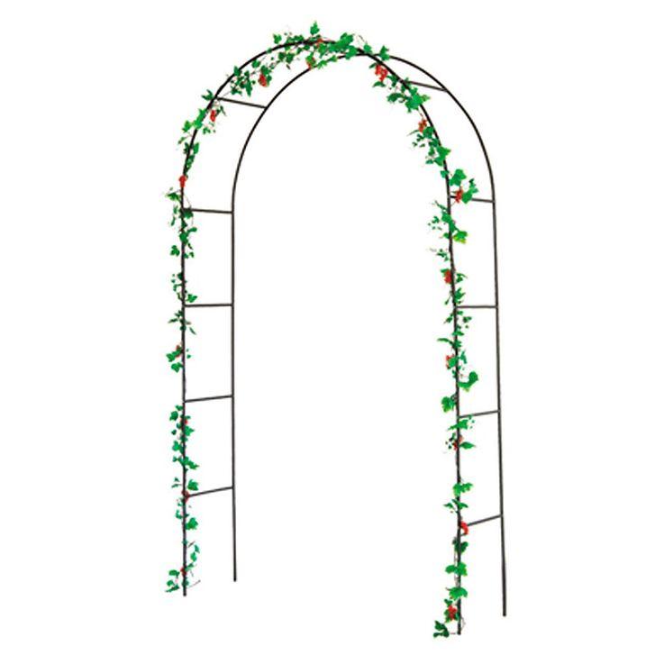 Rank Gitter Rosen Bogen Pergola Tor Pflanzen Hilfe Gestell Spalier grün Harms 504740 – Bild 4