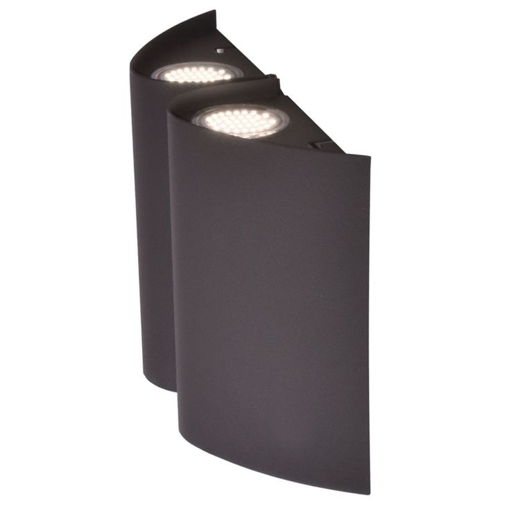 Luxury LED outdoor wall lamp terraces property UP DOWN spotlight anthracite lamp  Eglo 94795 – Bild 1