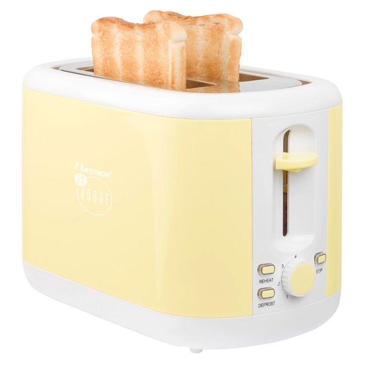 2er Breakfast Set 1.7l Kettle wireless 2  - slices Toaster bread roll top vanilla – Bild 6