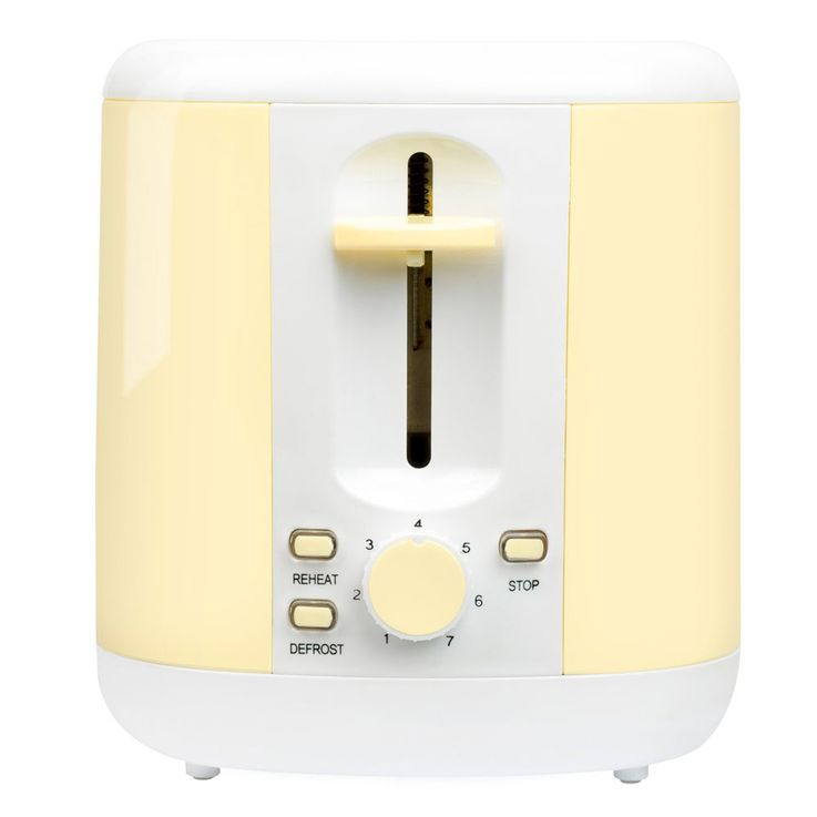2er Breakfast Set 1.7l Kettle wireless 2  - slices Toaster bread roll top vanilla – Bild 7