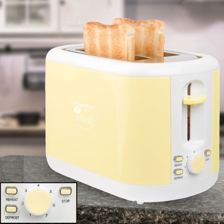 3pcs Breakfast Set Filter Coffee Machine Automatic Kettle Wireless 2-Slices Toaster Vanilla – Bild 3