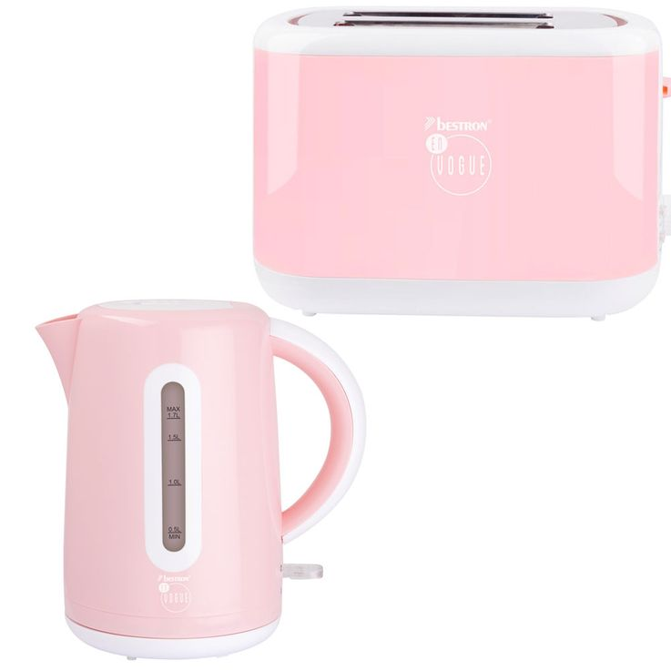 Set of 2 water digesters and 2 slices of toaster pink water heater buns attachment heater – Bild 1