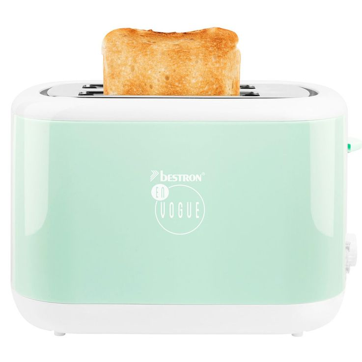 Set of 2 breakfast sets 2  slices toaster bread roll attachment 1.7L water cooker heater cordless mint green – Bild 7