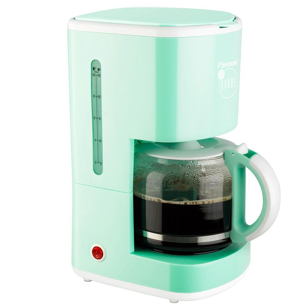 3er Frühstücks Set Wasser Kocher Kaffee Maschine 2 Scheiben Toaster mint gruen