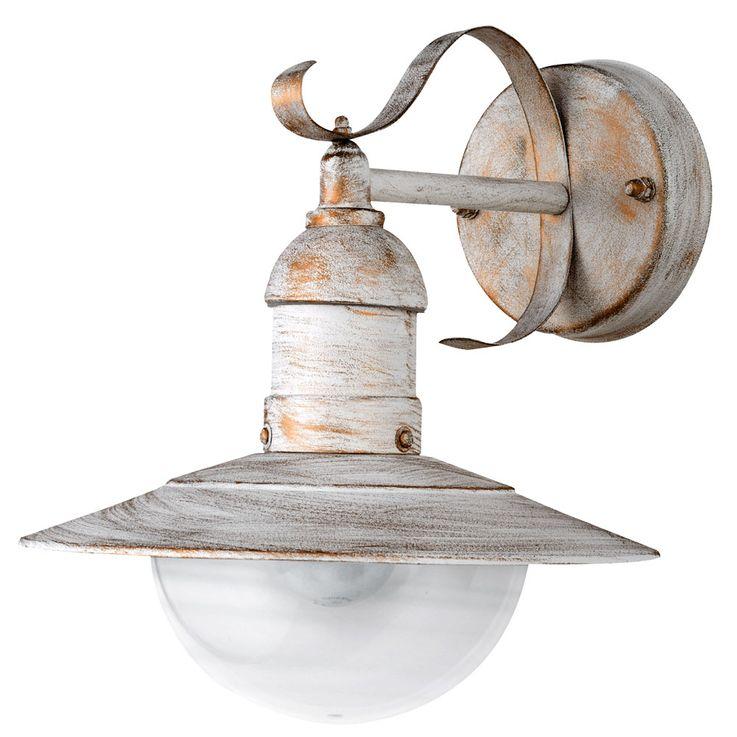 Lampe de mur de style campagnard de haute qualité E27 en acier IP44 éclairage extérieur Lantern  Harms 103211 – Bild 1