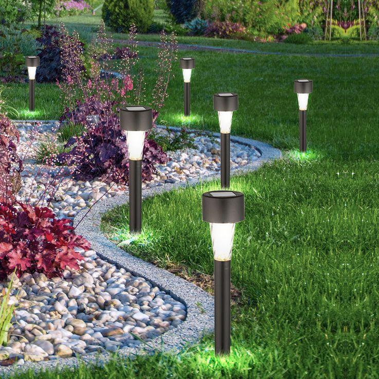 RGB LED Solarlampen Sets je nach Auswahl – Bild 3