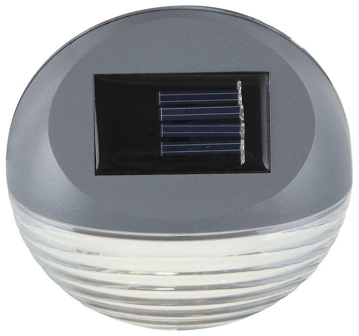 Set of 10 LED fence solar lights, diameter 11 cm – Bild 12