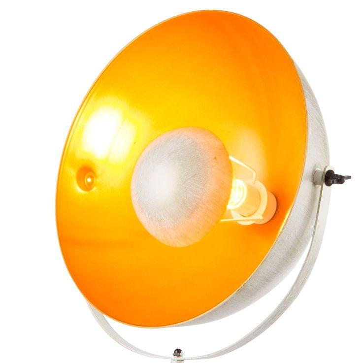 Design Steh Lampe Schein Werfer schwenkbar Wohn Zimmer Stand Lampe weiß gold Globo 58323W – Bild 5