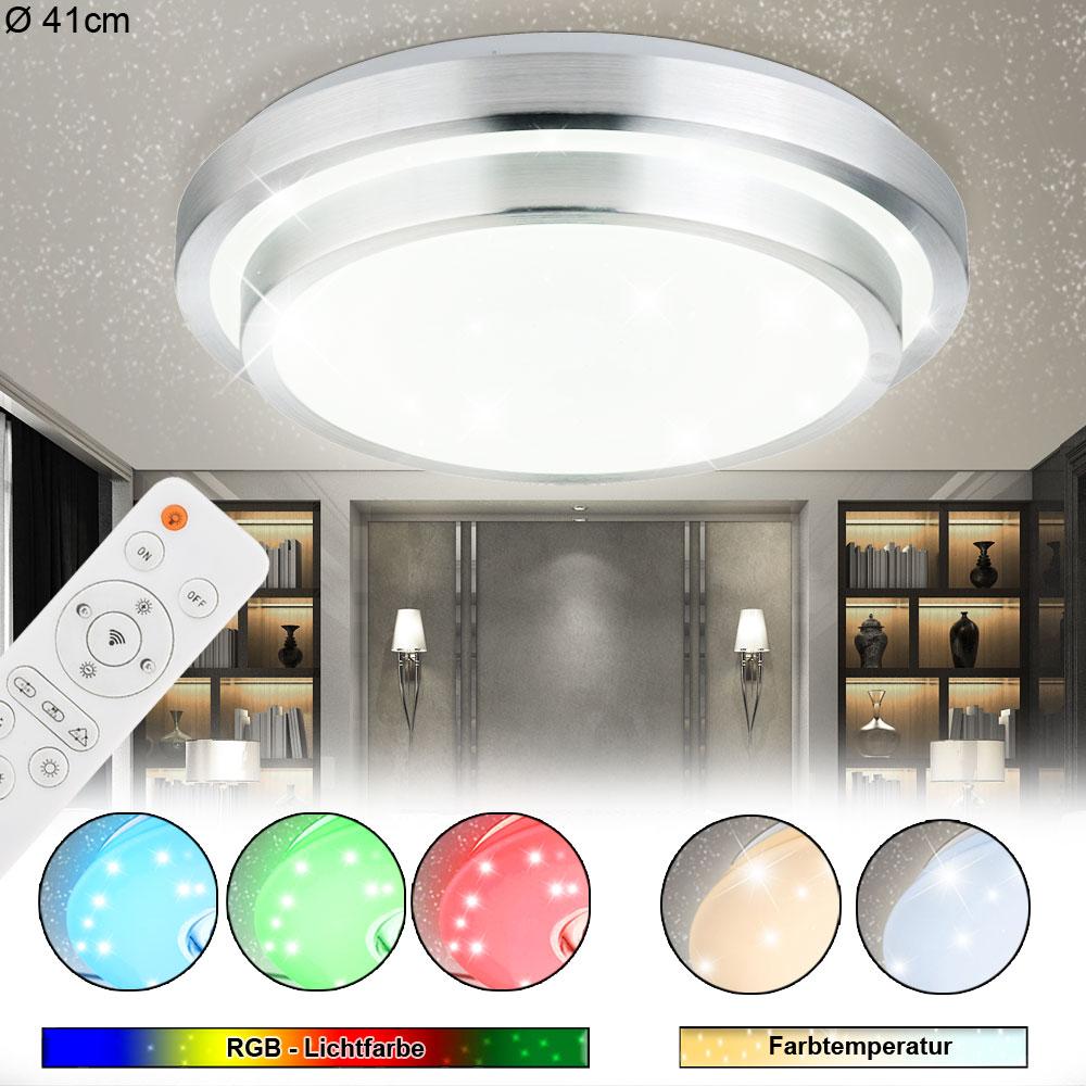 LED Luxus Decken Lampe 18 W Wohnraum Sternen Himmel