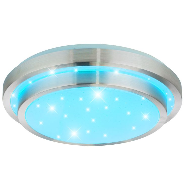 RGB LED ceiling light remote control stars sky effect dimmable lighting 41738  -24RGB – Bild 4