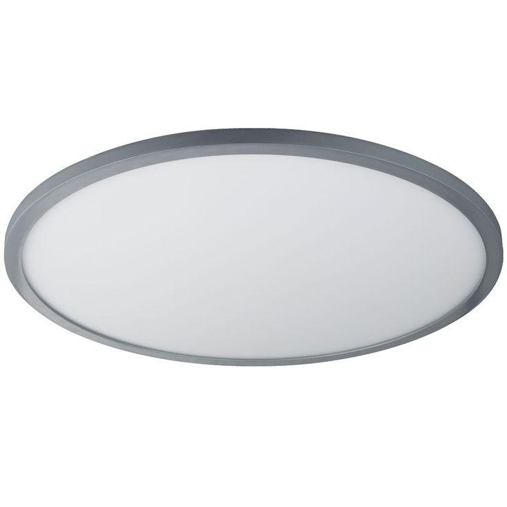 LED ceiling lamp remote control sleep room day light ALU lamp dimmable  Globo 41639-60 – Bild 1