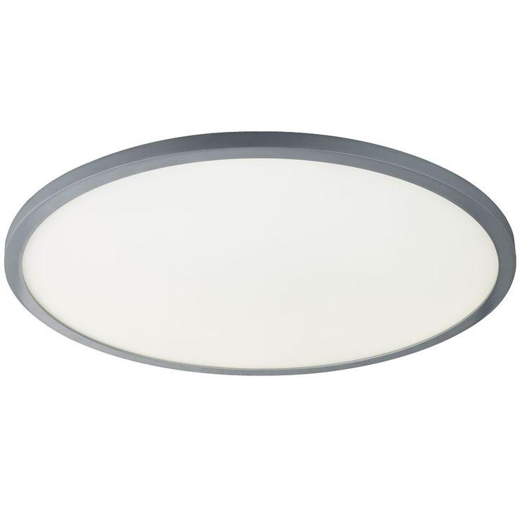 LED lampe de plafond télécommande chambre à coucher lumière du jour ALU lampe dimmable  Globo 41639-60 – Bild 6