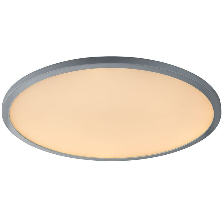 LED ceiling lamp remote control sleep room day light ALU lamp dimmable  Globo 41639-60 – Bild 4