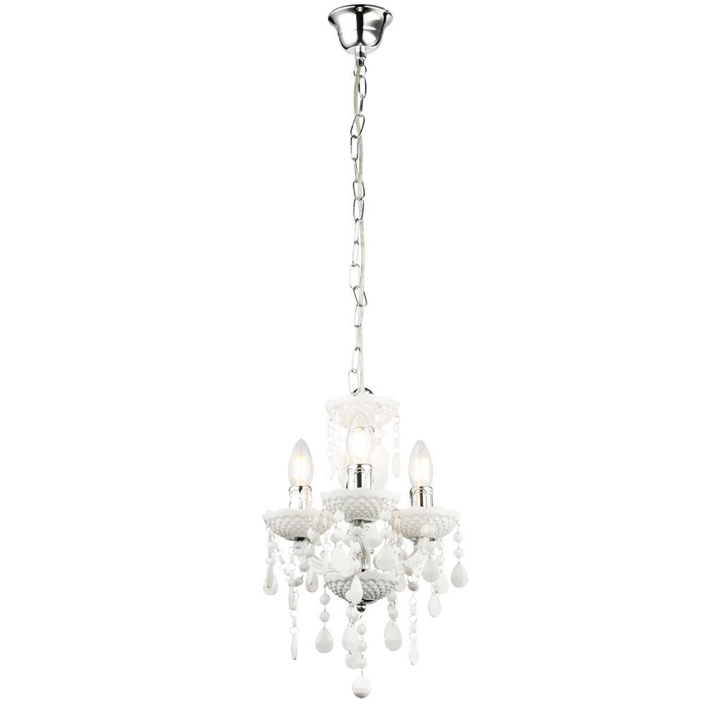 kristall kronleuchter in wei h he 122 cm lampen m bel innenleuchten kronleuchter. Black Bedroom Furniture Sets. Home Design Ideas