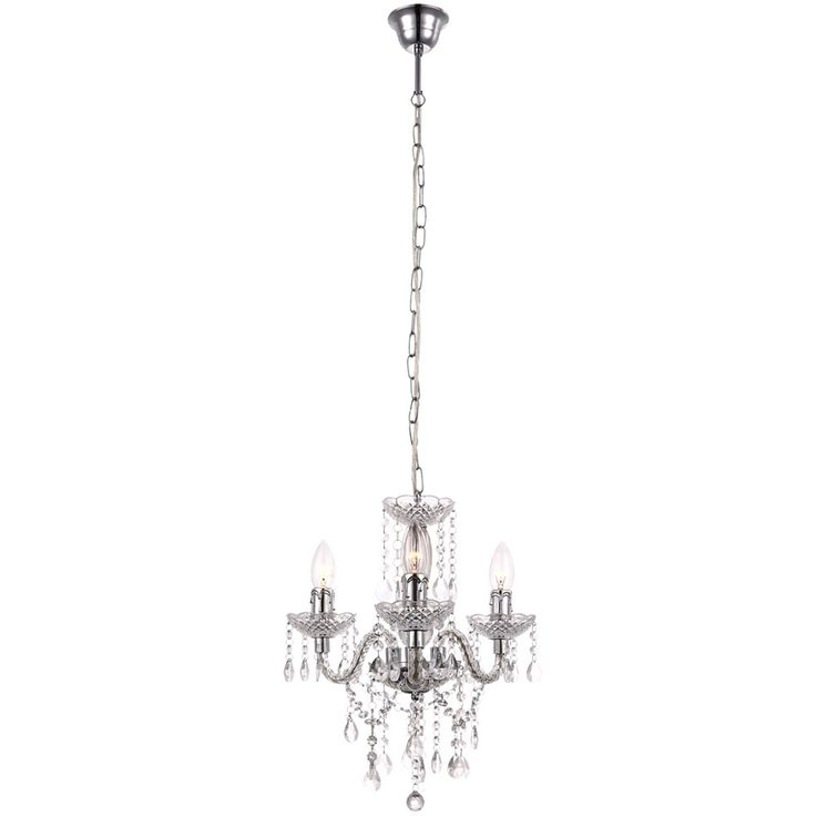 High quality chandelier ceiling lamp ceiling lamp chandelier crystal curtain lamp  Globo 63116-3 – Bild 1