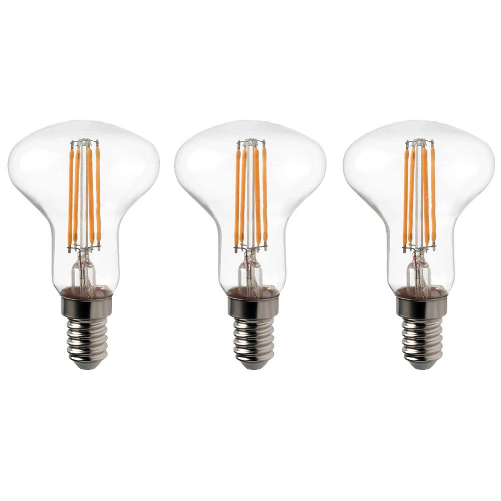 3er Set Dimmbare 4 Watt Led Filament E14 Leuchtmittel 300 Lumen Bild 1