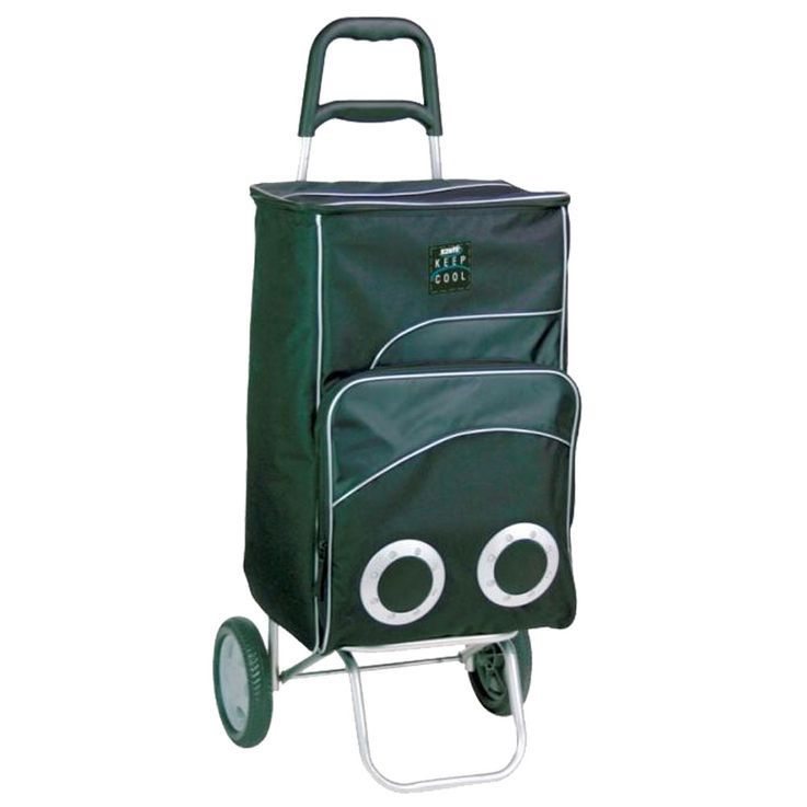 Thermo Shopping Trolley Cart Cool Box Shopping Bag Handle 12V Net Bag  Harms 504329 – Bild 1