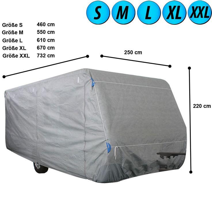 Capot de couverture de caravane protection tissu imperméable non tissé de bâche imprégnée S, M, L, XL, XXL – Bild 1