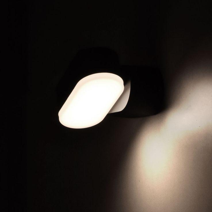 LED outdoor wall facade lamp ALU garden spotlight balcony lamp adjustable V  -TAC 8288 – Bild 4