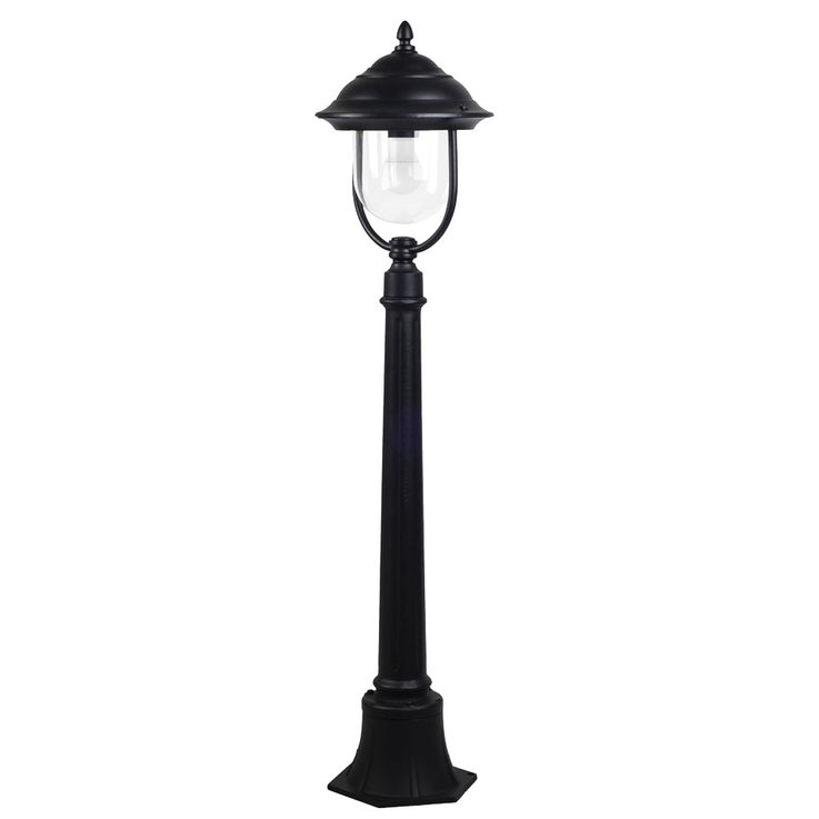 Design ALU Stand Lamp Outdoor Lighting E27 Stand Lamp Spotlight Lantern Height 111 cm VTAC 7530 – Bild 1