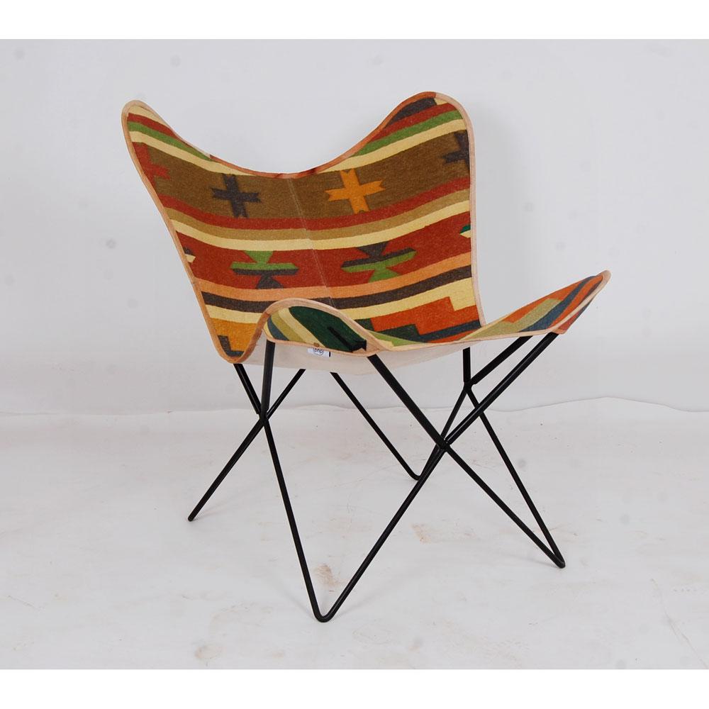 Gartenstühle - Stuhl, Gestell Metall, Bezug Canvas bunt KD  - Onlineshop ETC Shop