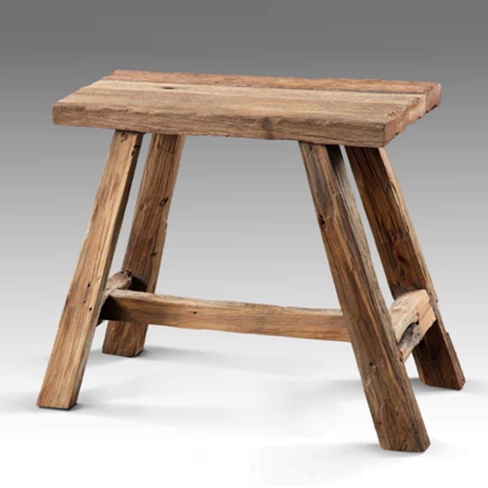 Sitzbank, klein, aus  recyceltem Holz max. 85 kg BHP B414031