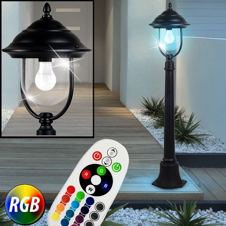 RGB LED ALU floor lamp, height 111 cm VT  -851 – Bild 2