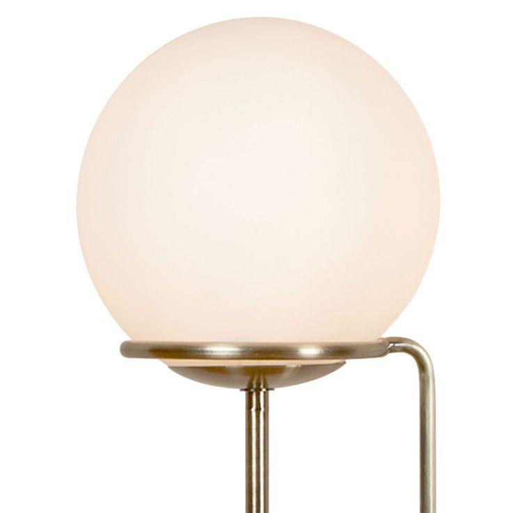 Table lamp stand lamp reading spotlight lighting brass antique glass ball  Searchlight EU8092AB – Bild 5
