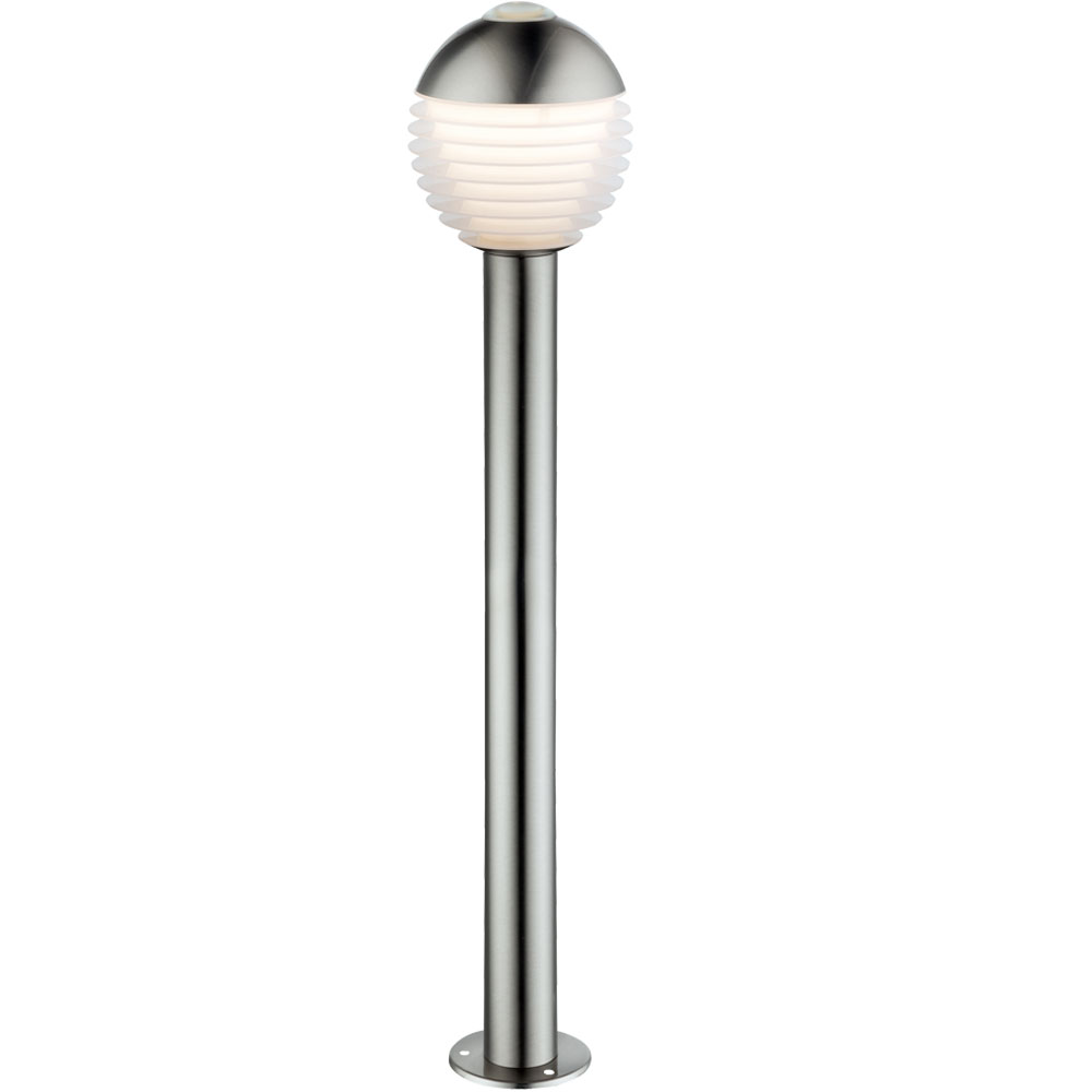 Led Stehlampe Aus Edelstahl H 96 Cm Alerio Meinelampe