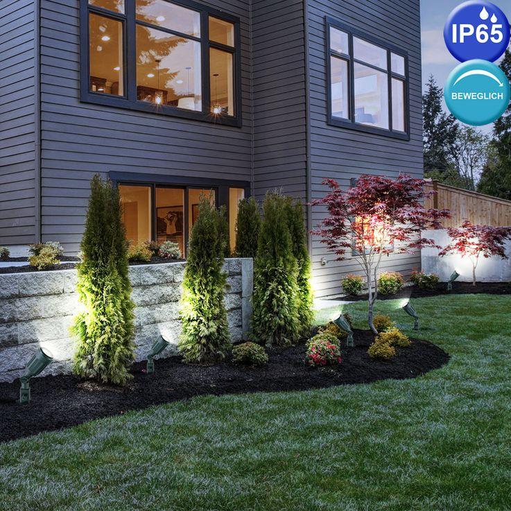 Outdoor Plug Lamp Garden Balcony Spit Spot Lamp PAR 38 black adjustable V  -TAC 7044 – Bild 5
