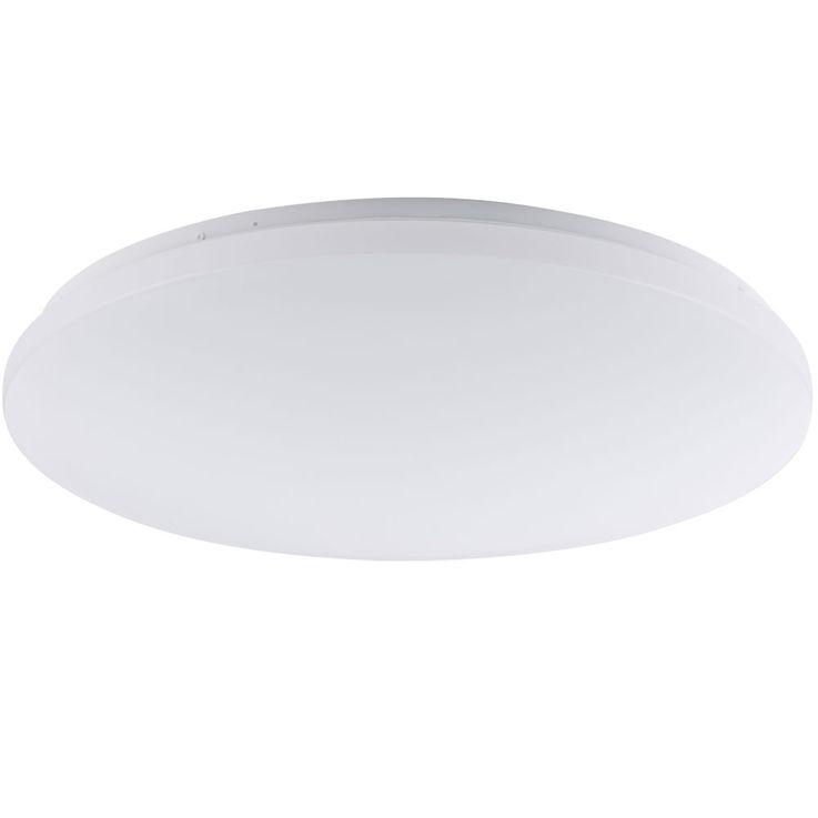 LED plafonnier sommeil invités salle projecteurs couloir lampe opale ronde  Globo 41003-42 – Bild 3