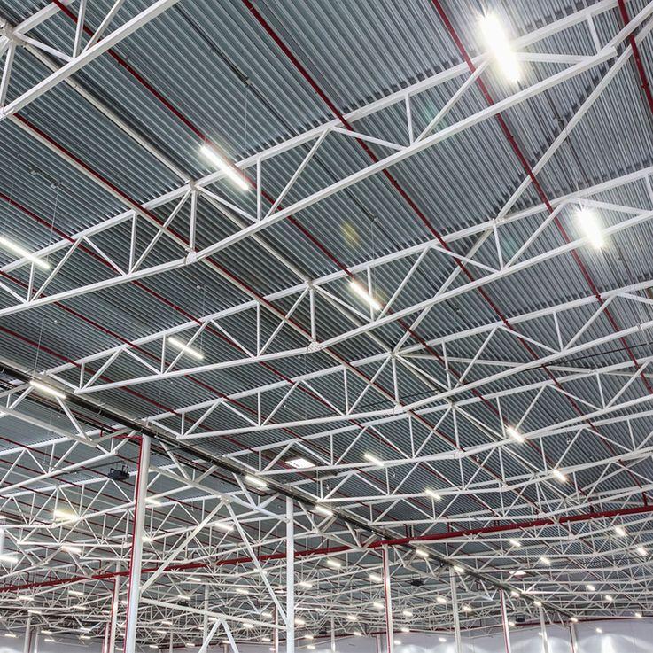 60W SMD LED Tubs Lamp Warehouse Halls Daylight Wet Room Garages Ceiling Fixture 6000K vtac681 – Bild 3