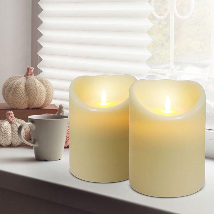 Lampe à cire à LED lampe de table à manger éclairage de la lampe en ivoire décoration de la fenêtre  Nordlux 81706000 – Bild 3