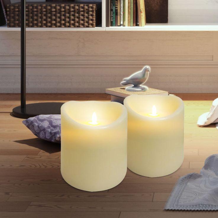 LED lampe de table bougies en cire lumière salon décoration éclairage de table  Nordlux 81705000 – Bild 3