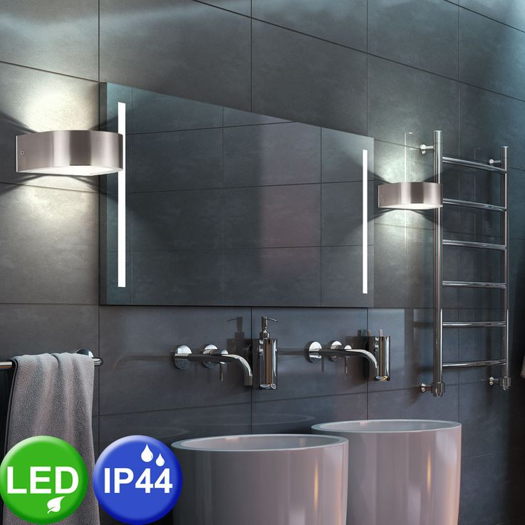 LED Up & Down wall spotlights made of metal, LIFT – Bild 3