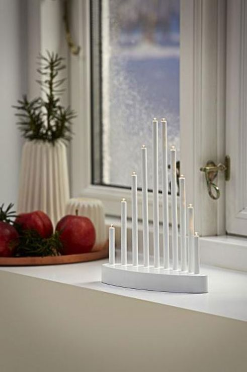 Christmas decorations arc light lamp light white candles LED lighting  Nordlux 80310000 – Bild 3